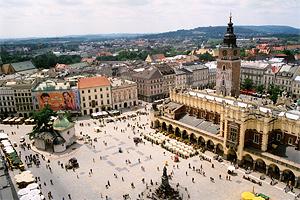Город Краков - самое красивое место в Польше