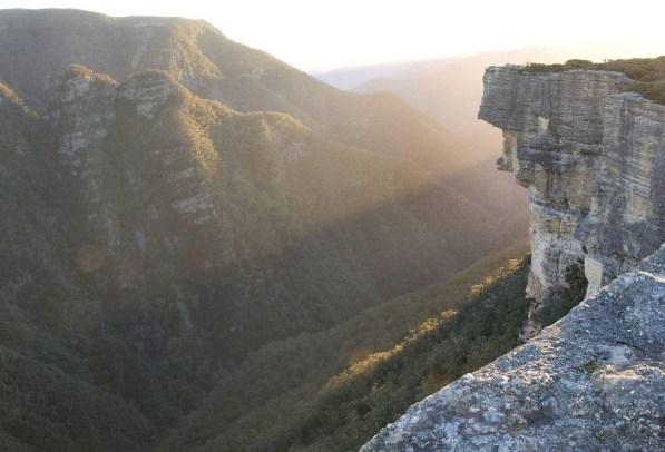 Голубые горы в Австралии