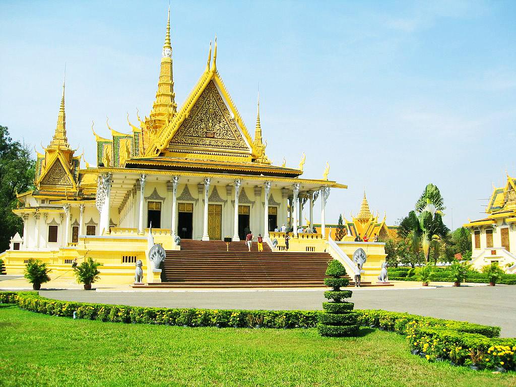Камбоджа столица