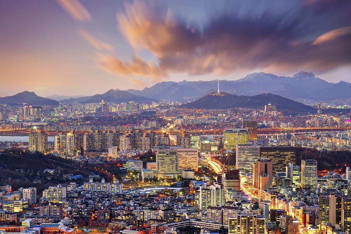 пляжный отдых в Южной Корее