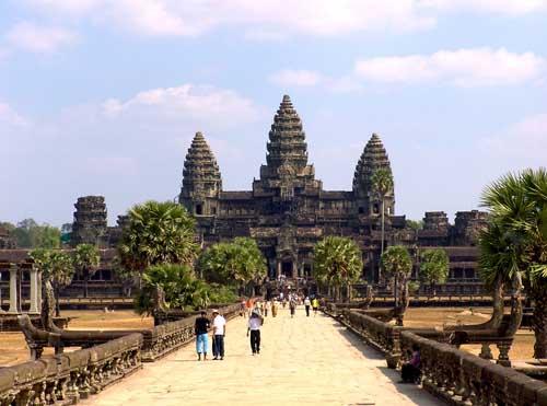 Храм Ангкор Ват фото